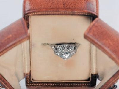 Historia pierścionka zaręczynowego! Świetne wideo.