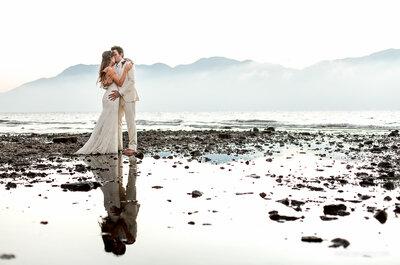 Casamento rústico de Vitória & André: um dia maravilhoso em meio à natureza exuberante de Ilhabela