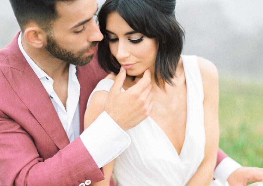 Cortar o cabelo antes do casamento?