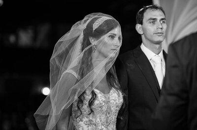 Sabrina & David: Casamento judaico clássico e sofisticado no Rio de Janeiro!