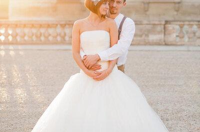 Abiti per spose con poco seno: ecco come far risaltare la tua silhouette