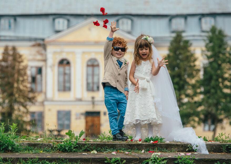 De voor- en nadelen van kinderen op de bruiloft