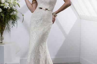 Vestidos de novia únicos y sofisticados en la nueva colección Sottero & Midgley Platinum 2015