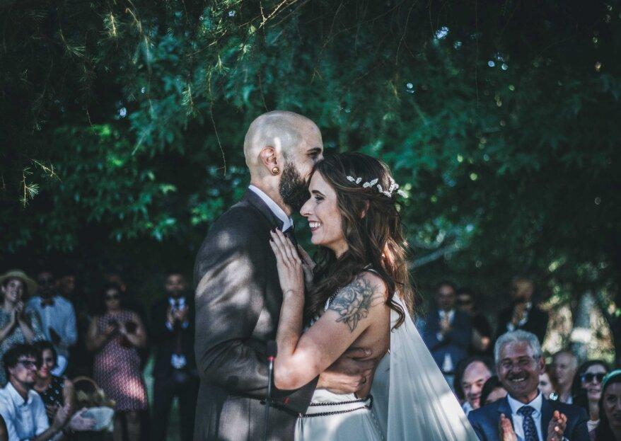 Un amor de instituto para siempre: la boda de Laura y Andrés
