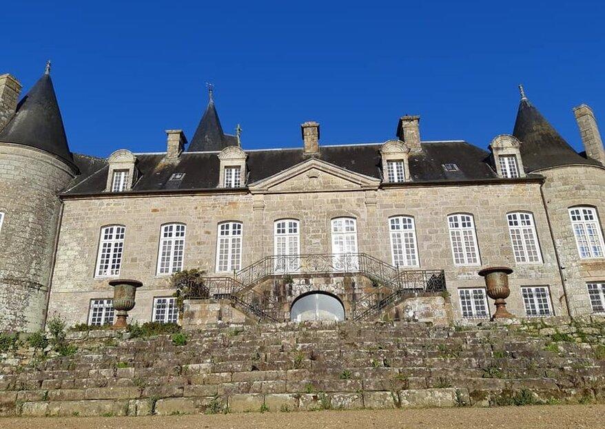 Le Château de Kergrist : un lieu d'exception où célébrer votre beau jour en Bretagne !