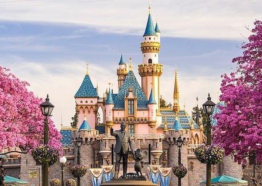 10 traumhafte und reale Orte aus Disney-Filmen, ideal für Ihre Flitterwochen!