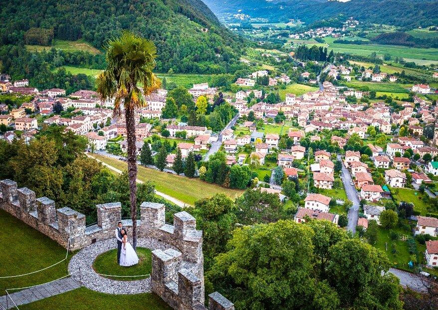 CastelBrando: il vostro sogno d'amore sospeso tra Venezia e le Dolomiti