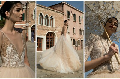 Inbal Dror Fall 2015 Bridal Collection: Venetian Splendor