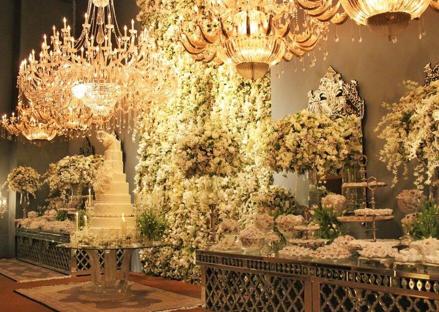 KAKA Fagundes Decorações: para casais que desejam realizar uma celebração sofisticada, exclusiva e inesquecível