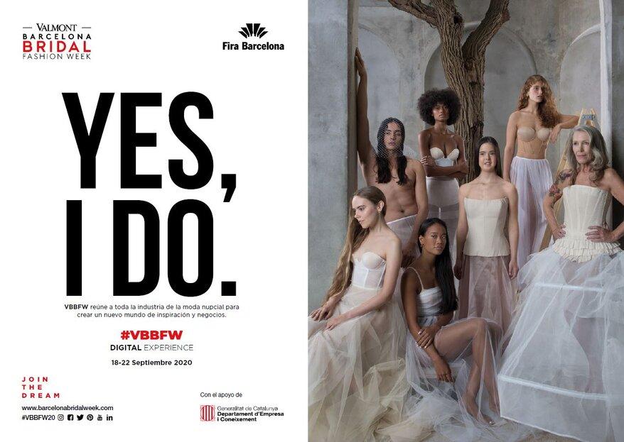 Barcelona Bridal Fashion Week y Valmont unen sus fuerzas para crear la VBBFW2020