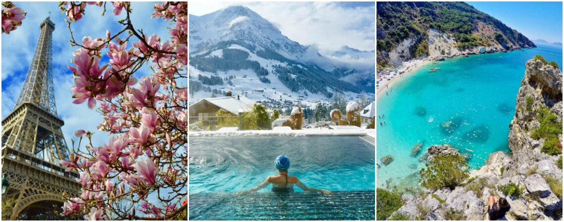 8 melhores contas do Instagram para inspirar sua próxima viagem!