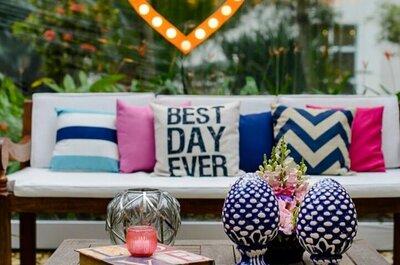 4 combinações de CORES para decorar o seu casamento em 2017: lindas e inusitadas!
