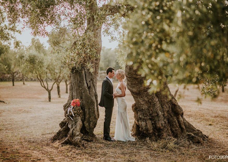 La fusione di due masserie dà un risultato unico per le vostre nozze: la perfezione di Tenuta Monacelli