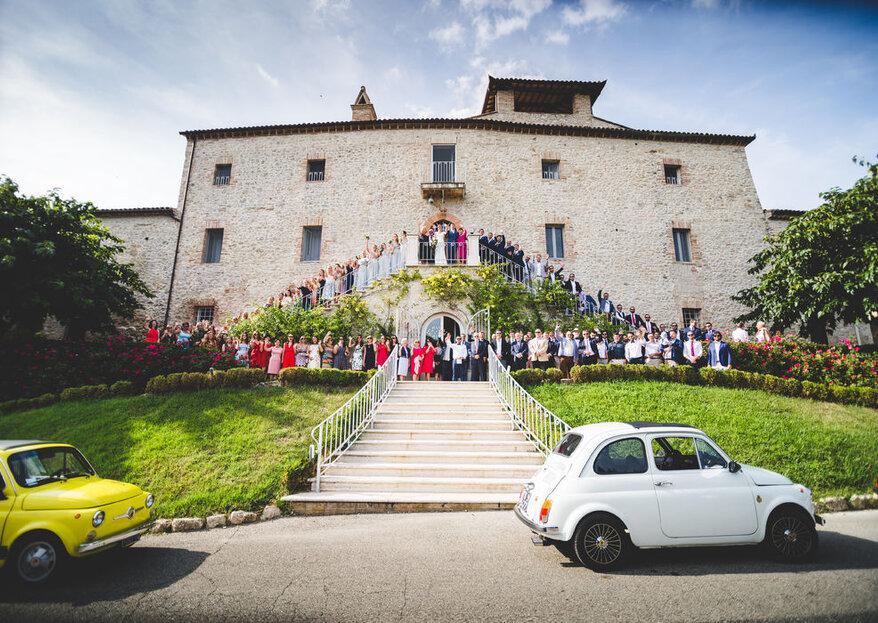 Castello di Montignano: il perfetto matrimonio in Umbria!