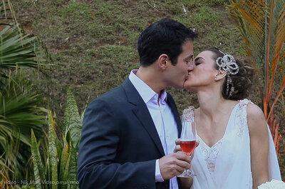 Vídeos de casamentos emocionantes, divertidos e leves: Nik Maia