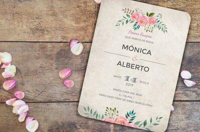 El cuándo, el cómo y el por qué de tus invitaciones de boda