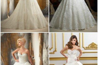 Mori Lee Bridal Collection 2013. In pizzo,a sirena,vaporoso: scegli l'abito perfetto per te!