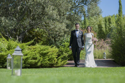 Siempre tuyo, siempre mía: la boda de Rebeca y José