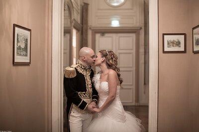 Le somptueux mariage dans un superbe château de Charlotte et David !