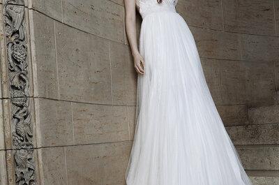 Abiti da sposa in tulle per la primavera-estate: scopri la nuova tendenza 2015