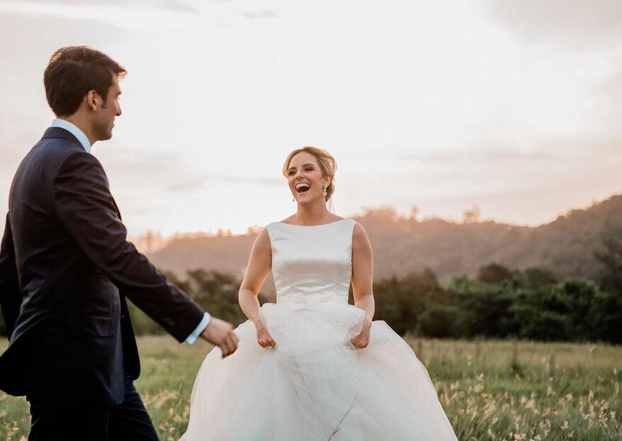 Casar na sexta-feira ou no domingo: opções incríveis que podem te surpreender