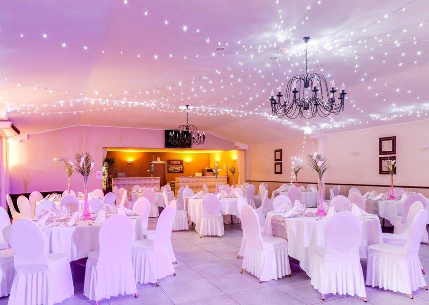 L'Atrium : un lieu de réception chaleureux et romantique dans le Var