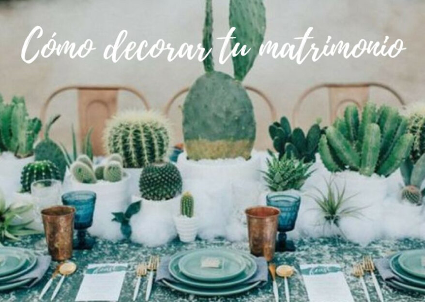 ¿Cómo decorar tu matrimonio? ¡5 ideas geniales para una ambientación perfecta!