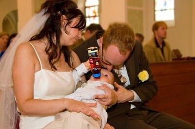 Para Młoda z dzieckiem - zobaczcie jaka jest rola niani weselnej!