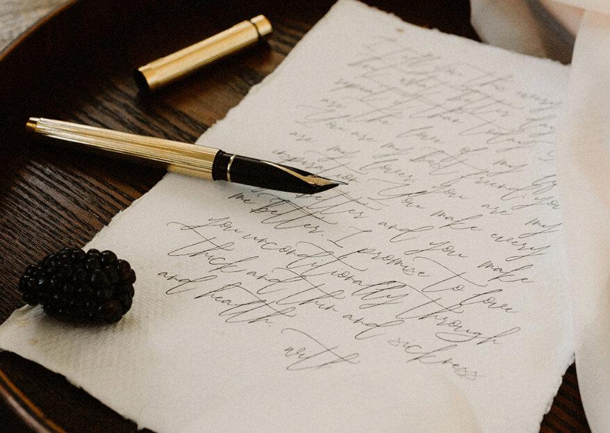 O valor de uma carta de amor: diga tudo o que lhe vai na alma por escrito!