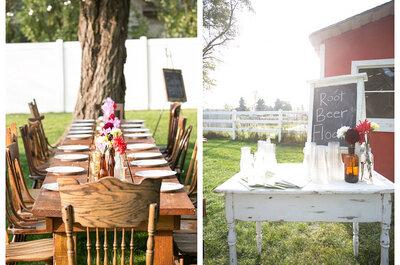 Ideen für Ihre Bar auf der Hochzeitsfeier
