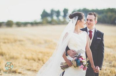 Después de perseguirnos por medio mundo, acabamos encontrándonos: la boda de María y Fernando
