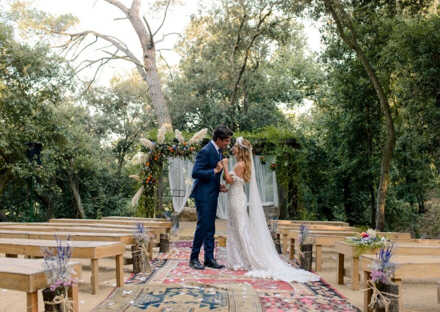 12 espacios donde puedes celebrar tu boda al aire libre de principio a fin