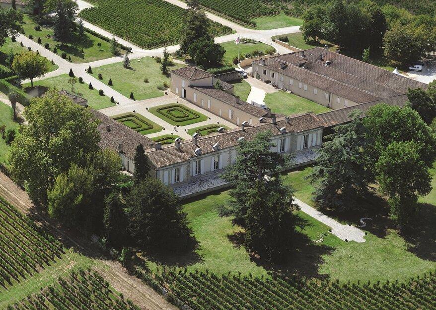 Un cadre bucolique et champêtre tout près de Saint Emilion : le Château Fombrauge