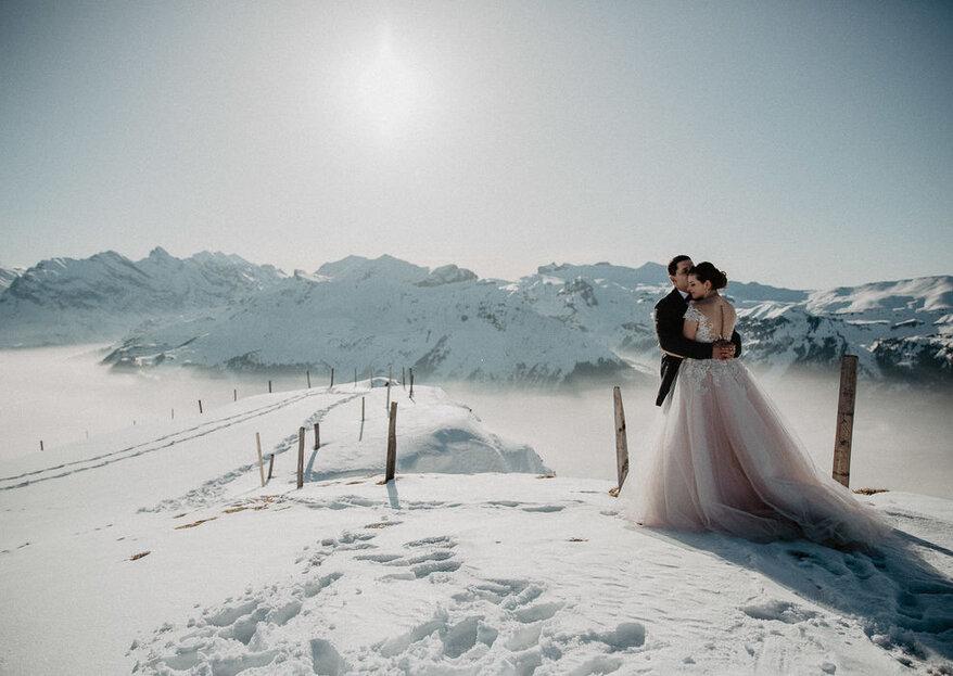 Tipps Und Inspirationen Fur Eine Romantische Winterhochzeit