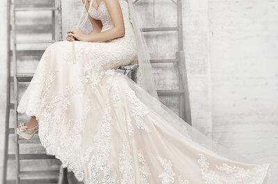 Vestidos de novia muy sexys en la nueva colección Kenneth Winston Primavera 2017
