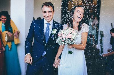A flor de piel: la boda de Patricia y Vicent
