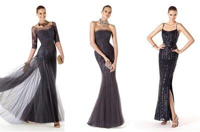 Robes noires pour les invitées d'un mariage : top tendance en 2014