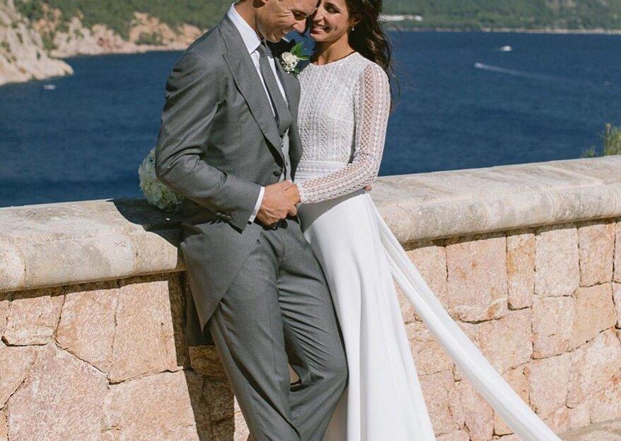 Tennisstar Rafa Nadal heiratete seine Jugendliebe María Francisca Perelló