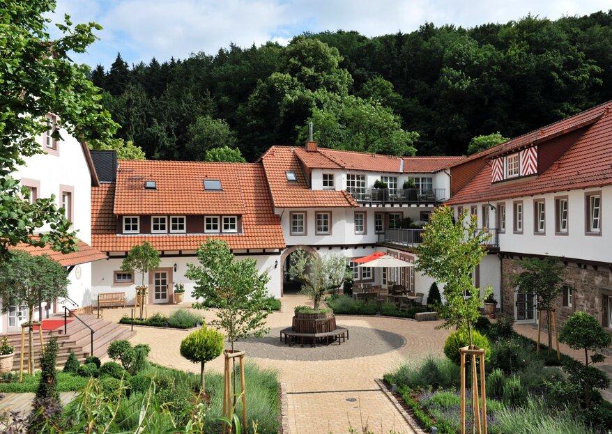 Traumhochzeit im 5-Sterne-Relais & Châteaux Hardenberg BurgHotel: verwirklichen Sie Ihre Märchenhochzeit