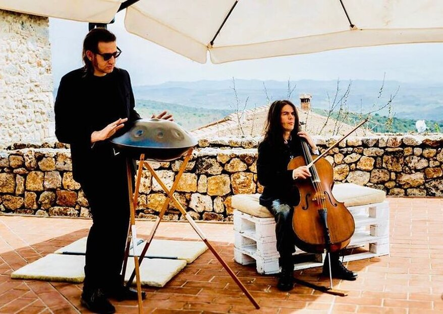 Davide Friello и музыкальное сопровождение Handpan для вашей свадьбы!