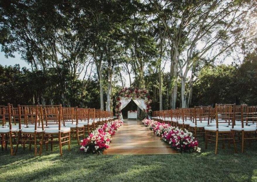 5 aspectos essenciais para escolher o local e tornar seu casamento um momento inesquecível!