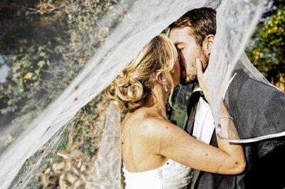 Justine + Marc-Antoine : une demande au-dessus des nuages et un joli mariage en Belgique !