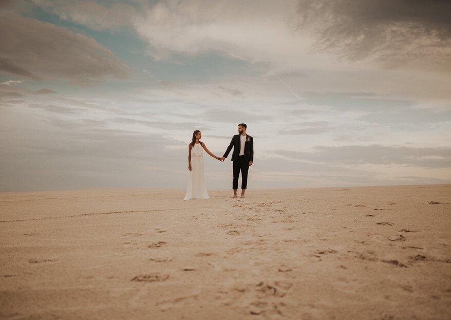 """""""Wild Love"""", czyli inspirująca sesja stylizowana na plaży"""