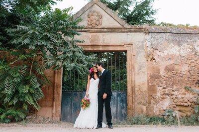 Magia y sueño de una noche de verano: la boda de Miriam y Mario