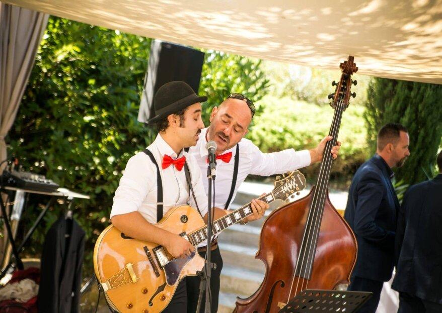 Puccio's Banda: finalmente si parla di musica per le nozze!