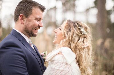 Le mariage de Gipsy et Remy : Une jolie cérémonie laïque dans un restaurant au cœur de la forêt de Marchiennes