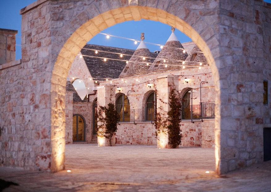 Discover the magic of the Apulian tradition in a unique wedding location: Masseria Grieco