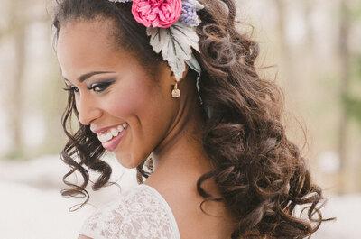 Durf met losse haren: de mooiste bruidskapsels voor 2015!