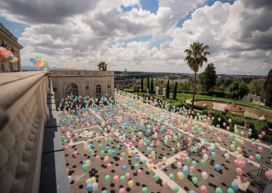 Eva Presutti - Event & Wedding Planner, il 2 giugno a Roma un momento di gioia e colore per celebrare gli sposi e i professionisti del wedding