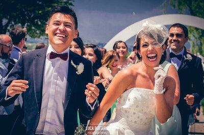 L'amore ai tempi dell'Erasmus: il matrimonio di Elisa e Juan Carlos